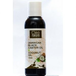 Cleo Nature Jamaican Black Castor Oil With Coconut Oil (120ml)